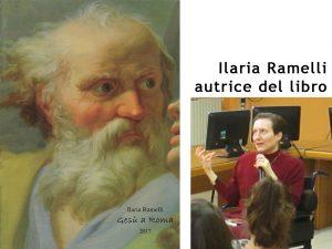 copertina del libro e Ilaria Ramelli